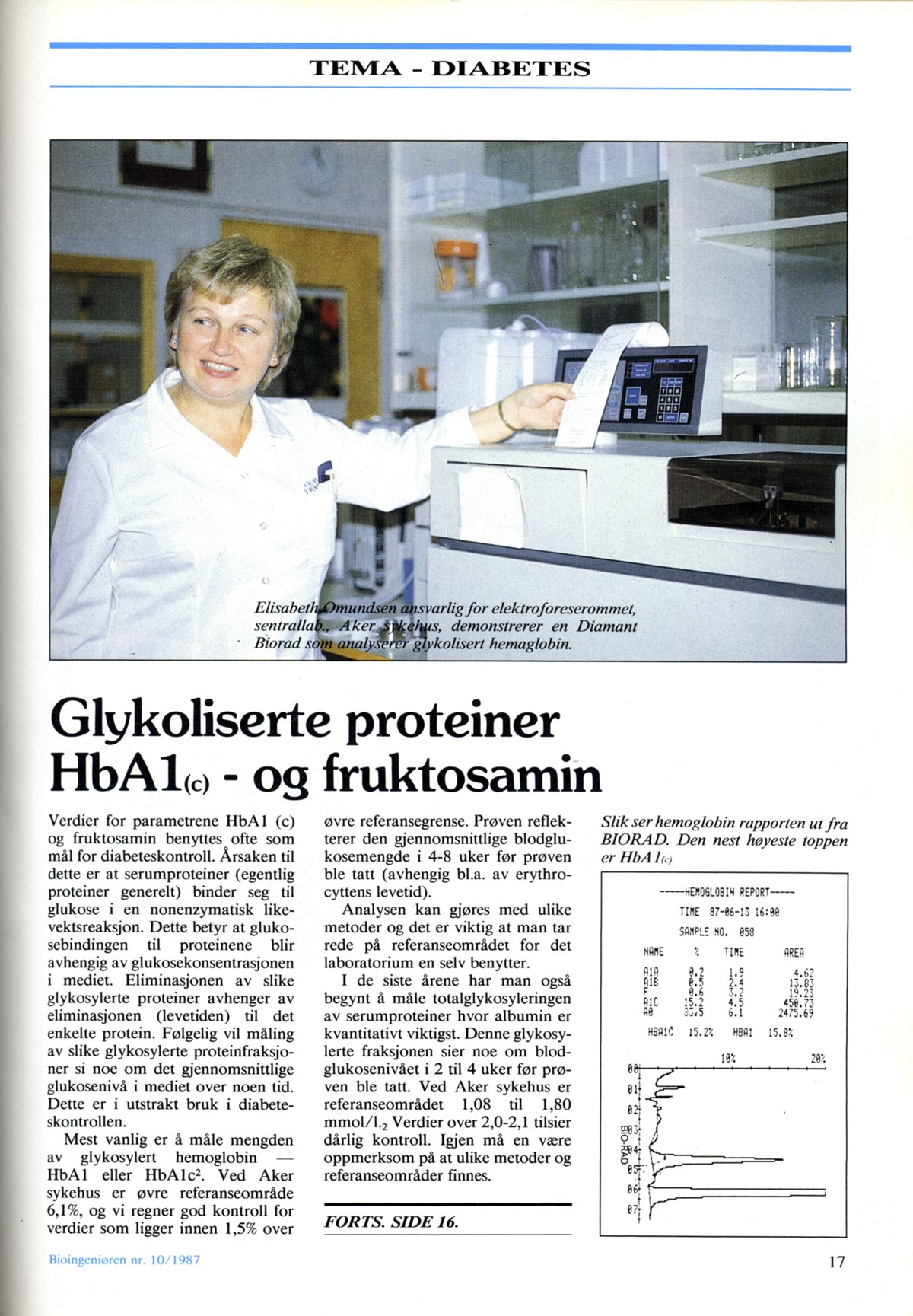Bioingeniøren side