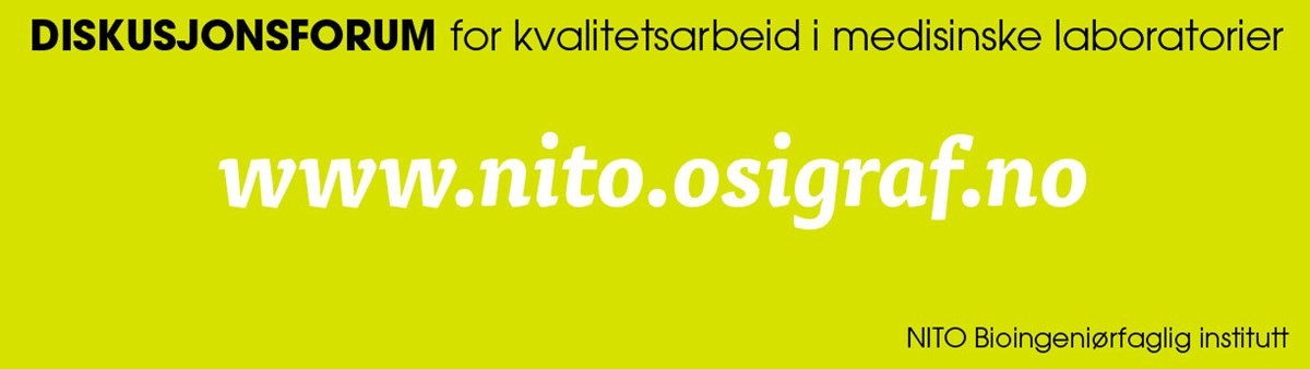 Forum for kvalitetsarbeid i medisinske laboratorier